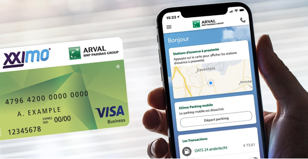 Arval Mobility Card